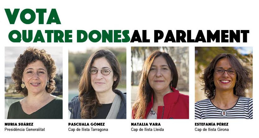 Quatre Dones al Parlament