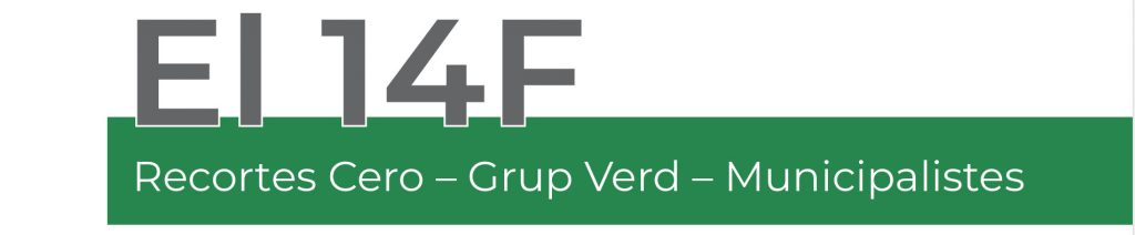 14F Recortes Cero - Grup Verd - Municipalistas
