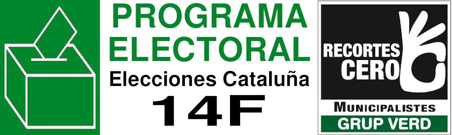 Programa Electoral 14F