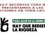 Recortes Cero Elecciones 14F