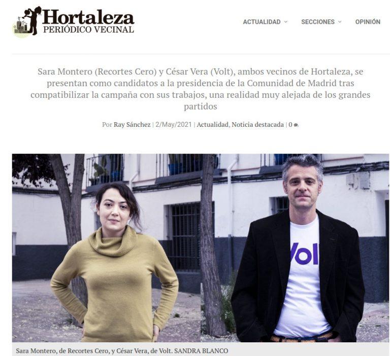 Candidatos de Hortaleza